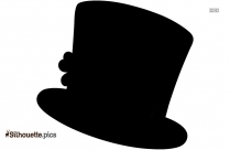 Cartoon Hat Silhouette Image And Vector