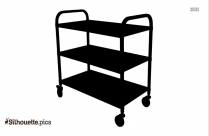 Stainless Steel Trolley Silhouette