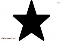 Star Background Symbol Silhouette