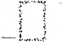 Star Border Silhouette Illustration