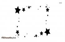 Star Borders Silhouette Design