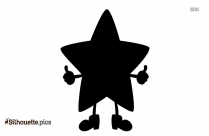 Star Cartoon Silhouette Illustration