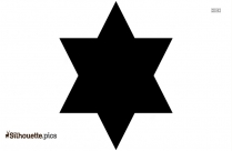 Star Of David Icon Silhouette