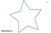 Star Outline Silhouette Illustration