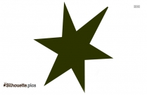 Star Shape Silhouette Art, Vector