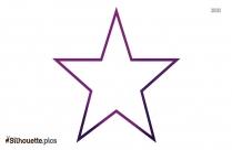 Star Shape Silhouette Art Work