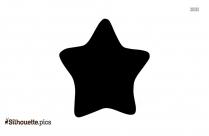 Star Shape Silhouette Illustration