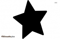 Star Shape Silhouette Image And Vector