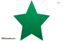 Star Shape Silhouette Image And Vector Image