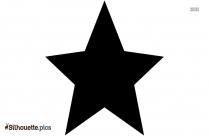 Star Symbol Silhouette Illustration