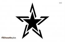 Star Tattoos Clip Art Silhouette