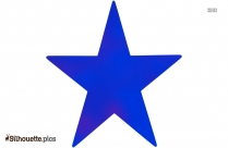 Star Template Silhouette Clipart