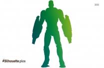 Flash Superhero Cartoon Silhouette Clip Art