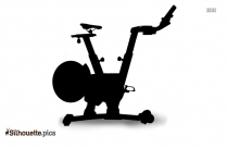 Life Fitness Commercial Silhouette Vector