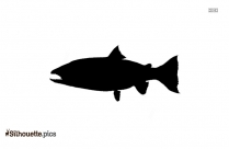 Halibut Fish Silhouette For Download
