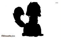 Black Strong Beast Boy Silhouette Image