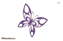 Butterfly Silhouette Illustration Vector Drawing