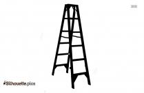 Human Ladder Silhouette