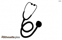 Stethoscope Silhouette Vector Download
