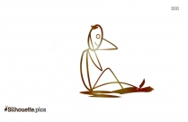 Sad Stick Figure Crying Silhouette