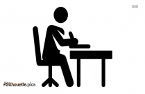 Stick Figure Working Man Pictures Silhouette