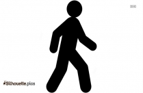 People Walking Silhouette, Clipart