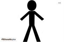 Stick People Silhouette Image