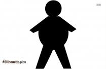 Stick Figures Arguing Clipart Silhouette