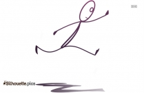 Break Dance Silhouette Image