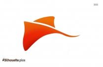 Fish Logo Silhouette Image