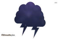 Storm Clipart Silhouette Image And Vector