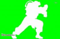 Street Fighter Silhouette, Zangief Photo