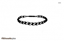 String Anklets Silhouette Art