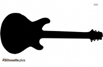 String Bass Silhouette Illustration