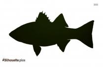 Bleeder Fish Silhouette Free Vector Art