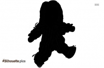 Girl Doll Silhouette
