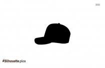 Cartoon Jester Hat Silhouette Illustration