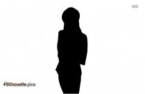 Girl Athlete Silhouette Clip Art