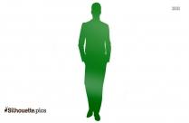 Stylish Groom Silhouette Image