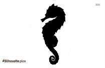 Seahorse Silhouette Tattoo