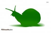 Stylized Snail Silhouette