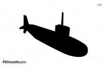 Submarine Drawing Silhouette
