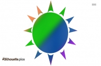 Cartoon Sun Images Clip Art Silhouette