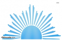 Sunshine Silhouette Clipart
