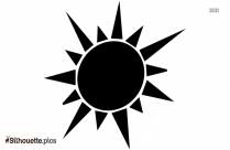 Sun Uv Rays Silhouette Image