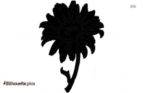Sunflower Drawings Simple Silhouette For Download