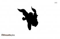 Captain America Silhouette Free Vector Art