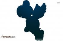 Turtle Mario Clipart || Koopa Troopa Silhouette