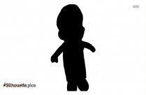 Black Mario And Luigi Silhouette Image