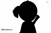 Dexter Cartoon Character Vector Silhouette
